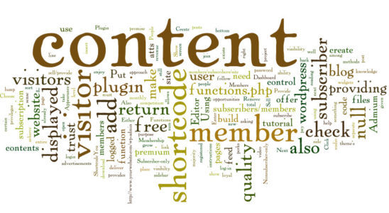 оформления контента